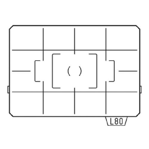 Pentax Focusing Screen LL-80 (AF Divided Matte) for the K20D, K10D Digital SLR Camera Pentax Focus Screen