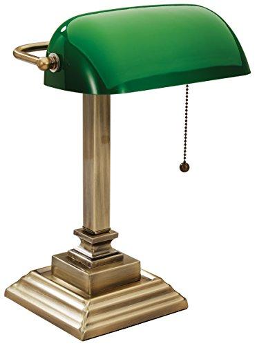- V-LIGHT Technology Desk Task Lamp, Antique Gold (VS150402GR)