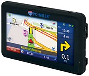 PC MILER Navigator 540 All-In-One GPS for Truck Drivers with 5 Touch Screen Display PCM540