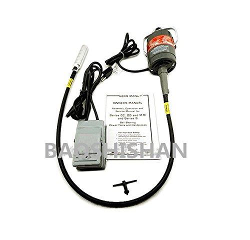 BAOSHISHAN 110V/220V KT-A02 フレックスシャフトキット フットペダル フレキシブルシャフトマシン リューター マルチ 電動ドリル用 B07B9V2CLC