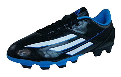 adidas Soccer Boots F5 TRX FG J Boys Cleats-Black-6