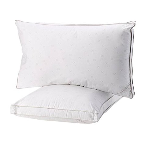 ead Count Tossed Logo Density Pillow, Extra Firm, 2