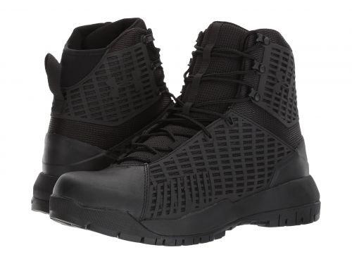 Under Armour(アンダーアーマー) メンズ 男性用 シューズ 靴 ブーツ 安全靴 ワーカーブーツ UA Stryker Black/Black/Black [並行輸入品] B07BKSWDBF 11.5 D Medium