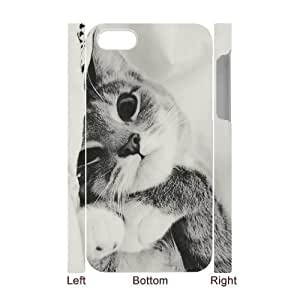 Customized Durable Case for iphone 5c 3D, Cat Phone Case - HL-703189