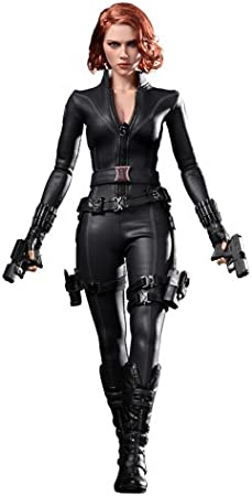 """Hot Toys 1//6 Scale Black Widow 1.0 Glove Hands Model for 12/"""" Action Figure"""