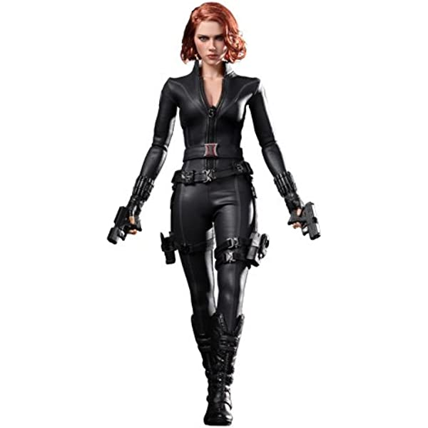 Amazon Com Hot Toys Avengers Black Widow Movie Masterpiece Series Mms 178 1 6 Scale Collectible Figure Toys Games