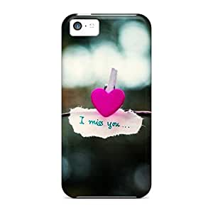 Hot MsstxCS7255rJrpo Case Cover Protector For Iphone 5c- I Miss You