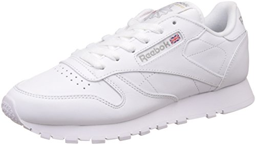 Leather Reebok Sneaker Int Classic Damen white Weiß 8xa6H