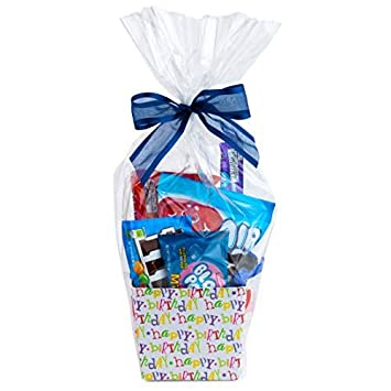 Clear Basket Bags 16 X 24 Cellophane Gift Bags For Small Baskets And Gifts 1 2 Mil Thick 20 Bags
