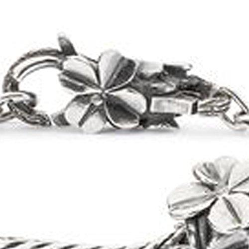 Trollbeads le original Bracelet Argent Bracelet 'Lucky Friends' 20cm tagbo de 00241