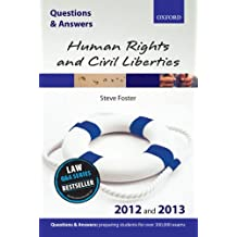 Q&A Human Rights and Civil Liberties 2012 and 2013 (Questions & Answers)