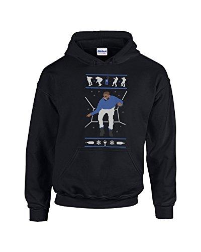 Hoodies for Women Men Hotline Bling Drake Pullover Hoodie Hooded Sweatshirt(Black,X-Large) ()