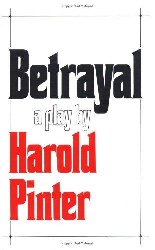 Betrayal [Harold Pinter] (Tapa Blanda)
