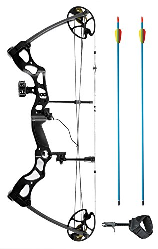 XGear Right Hand Compound Bow 50-70lbs 25-31 Archery Hunting Equipment with Max Speed 310fps