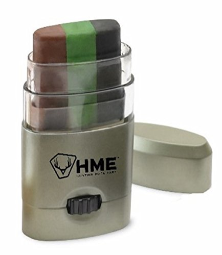 HME Products 3 Color Camo Face Paint - Camouflage Paint Face