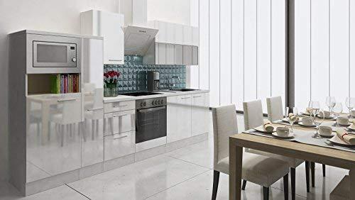respekta PREMIUM empotrable cocina cocina pequeña 310cm ...