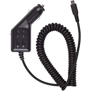 BlackBerry Mini USB Car Charger for Most BlackBerry Phones - Bold 9000 8800 8820 8830 Curve 8300 8310 8320 8330 8350i Pearl - Retail Packaging