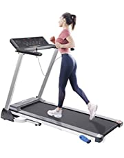 Merax Folding Electric Motorized Treadmill for Home 2.5HP Running Walking Machine with Bluetooth 15 Preset Programs and Incline Adjustment 300LBS Weight Capacity Fitness Treadmill with Sports App