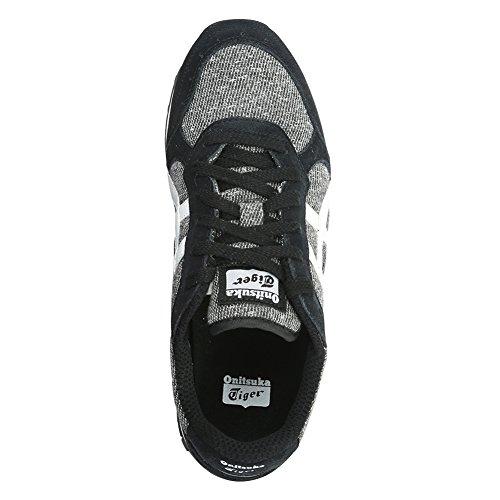 Zapatillas De Running Asics Hombres Colorado Eigthy-five D514n-9001 Negro / Blanco