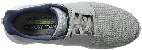 Skechers Uomini Foreflex Scarpe Grigie (grigio) In Esecuzione