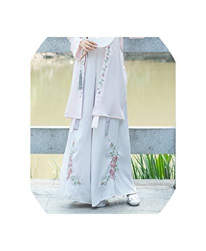 Hanfu Women Chinese Dance Costumes Costume Chinese Hanfu Women Dancewear,Pants,L