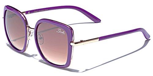 uare Women's Vintage Fashion Statement Sunglasses Medium-Large ()