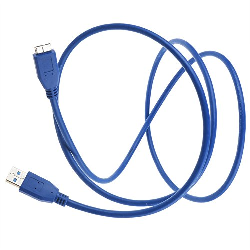 AT LCC USB 3.0 Cable Lead Cord For Transcend StoreJet 25 25M3 Mobile 640GB 25A3K 750GB 750G 500GB 500G Portable External Hard Drive
