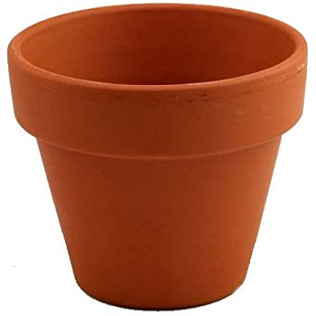 """3 - 7"""" Clay Pots - Great for Plants and Crafts"""