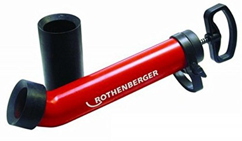 Rothenberger 72070X, Ropump Super Plus Professional Force Pump Cleaner with Long & Short Adapters (Rothenberger Adaptor)