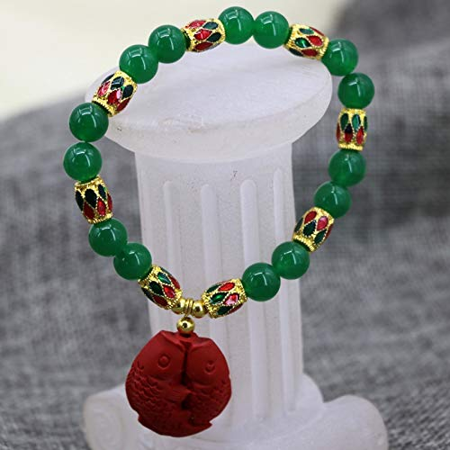 - Green Chalcedony Pendant With New Design 2019, Natural 8mm Green Jades Stone Chalcedony Round Women - Natural Purple Jade, Jade Round Pendant, Burma Jade Beads, Natural Purple Jade Bangle
