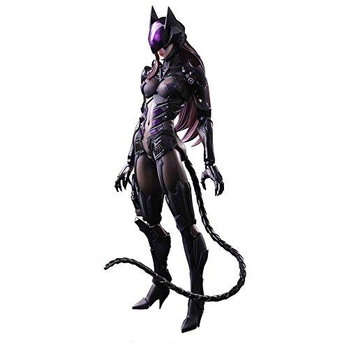 Square Enix Dc Comics Play Arts Kai Catwoman Action Figure Tetsuya Nomura (Body Art Panthers)