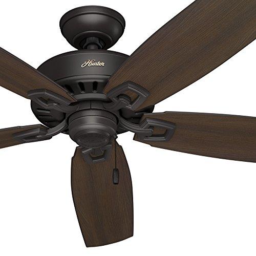 """Hunter Fan 60"""" Great Room Ceiling Fan in Premier Bronze with"""