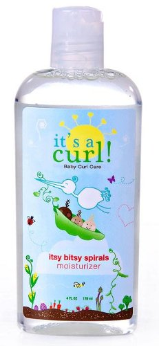 Aloe 80 Daily Conditioner - Curls It's a Curl Itsy Bitsy Spirals Moisturizer - 4 Oz