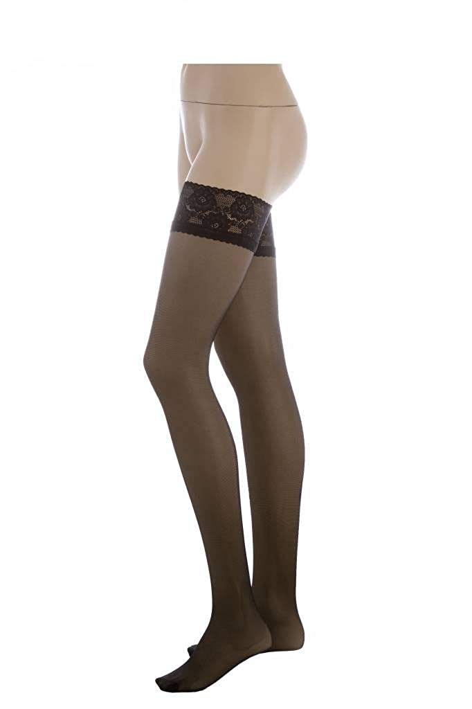 Conte Women's Thigh High Self- Supported Sheer Stockings ...