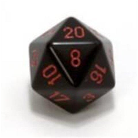 【おすすめ】 赤シェセックス製造XQ2018不透明シングルジャンボ34ミリメートルD20ダイスブラック B00OU6Q3K6 B00OU6Q3K6, ヒガシナルセムラ:dc88f2d3 --- arianechie.dominiotemporario.com