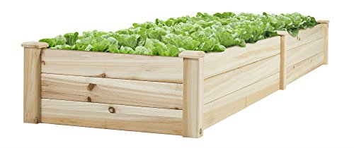 Vegetable Raised Garden Bed Patio Backyard Grow Flowers elevated Planter by Unknown (Image #5)