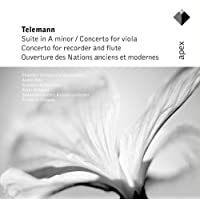 Telemann : Suite In A Minor, Concertos In E Minor & G Major & Overture Des Nations Anciens Et Modernes  -  Apex