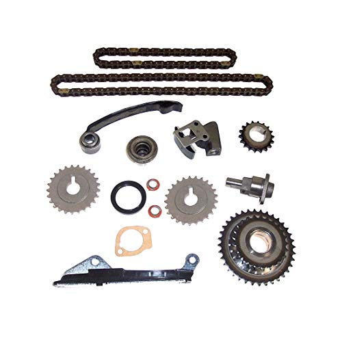 DNJ TK640A Timing Chain Kit for 1991-1999 / Nissan / 200SX, NX, Sentra / 1.6L / DOHC / L4 / 16V / 97cid / GA16DE