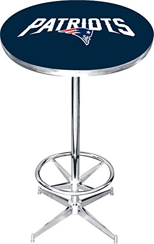 Pub Licensed Table - Imperial Officially Licensed NFL Furniture: Round Pub-Style Table, New England Patriots