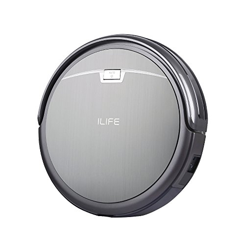 ILIFE A4 Robot Vacuum Cleaner, Titanium Gray (Vacuum Cleaner Remote Control compare prices)