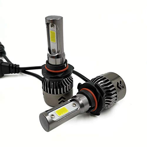72W 8000LM Low Beam//Fog Driving Lights Extremely Bright FANTELI 9006 8000K Ice Blue LED Headlight Bulbs All-in-One Conversion Kit HB4