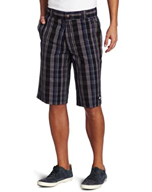 Men's Regular-Fit Plaid Short