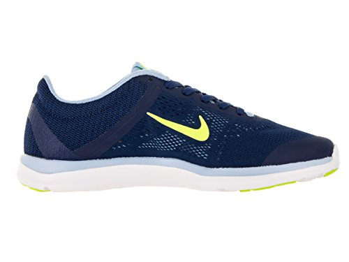 Nike Frauen In der Saison TR 4 Cross Trainer Laufschuh Küstenblau / Volt / Bluecap / blaue Tönung