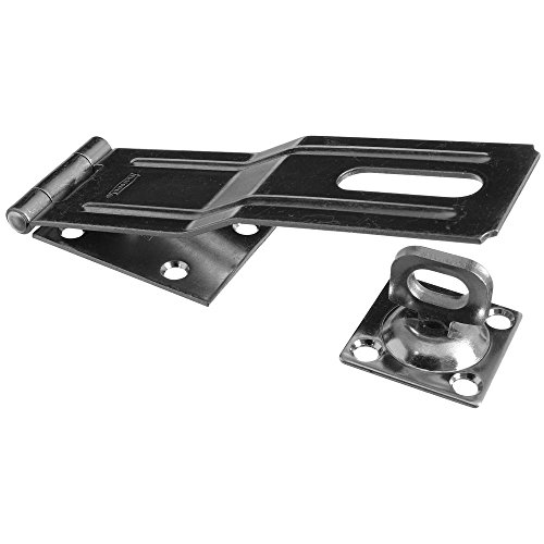 National Hardware N226-506 SPB32 Swivel Staple Safety Hasp in Zinc plated ()