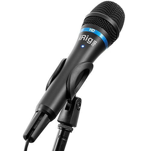 IK Multimedia iRig Mic HD high-definition handheld microphone for iPhone, iPad and Mac (black) by IK Multimedia (Image #2)