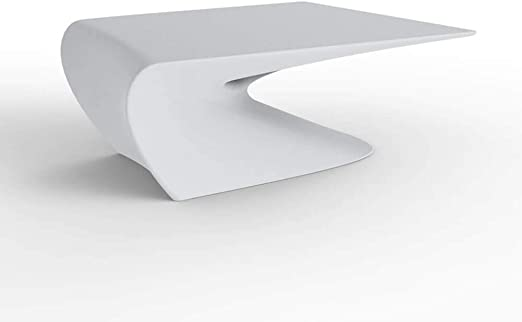 Vondom Wing mesa baja de exterior blanco: Amazon.es: Jardín
