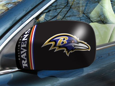 Nfl - Baltimore Ravens Small Mirror Cover by Fanmats