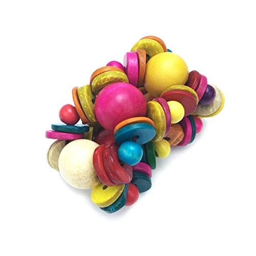Shell Stretch Coconut Bracelet (Gabcus Bohemian Beach Jewelry Strand Bracelet for Women Fashion Round Coconut Shell Wood Beaded Stretch Bracelets Wholesale - (Metal Color: Multicolor))