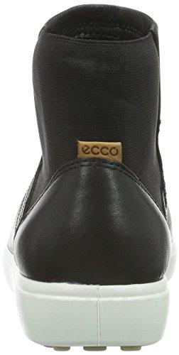 Lion 59075 Scarpe da ECCO Soft Nero 7 black Ladies Donna Ginnastica wqw6vxCz
