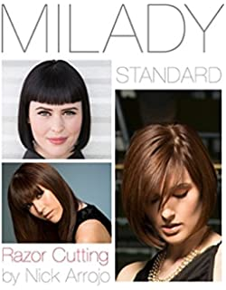 Milady standard haircutting system spiral bound version milady milady standard razor cutting fandeluxe Choice Image